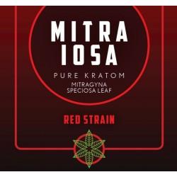 Mitra Iosa - 50 Pure Kratom Capsules (25g) - Red Strain